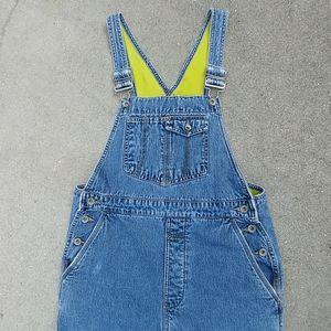 Gap Fleece Lined Denim Jumper Pants & Bib Overalls